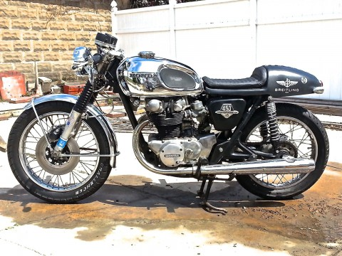 1972 Honda CB450 Custom Cafe Racer by Triborough Motorcycles for sale