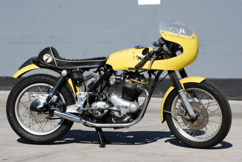 1973 Norton Commando cafe racer for sale