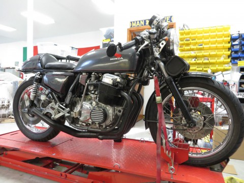 1976 Honda CB 750 cafe racer for sale