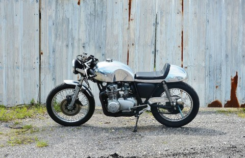 1977 Honda CB 550 (Aluminium Cafe racer) for sale