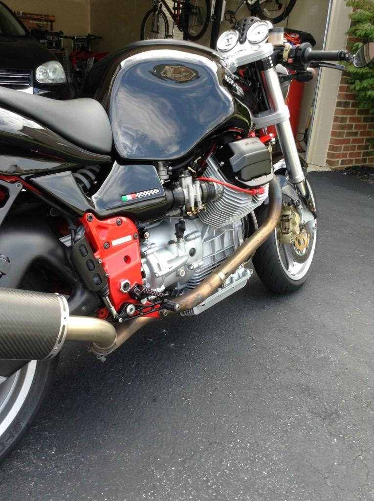 2001 moto guzzi v11 sport cafe racer for sale. Black Bedroom Furniture Sets. Home Design Ideas
