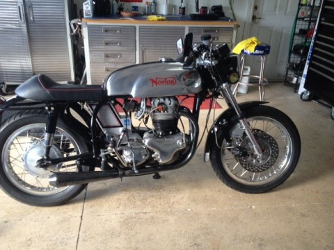 1963 Norton MANX FEATHERBED CAFE RACER for sale