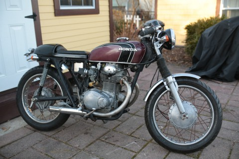 1972 Honda CB 350 Cafe racer for sale