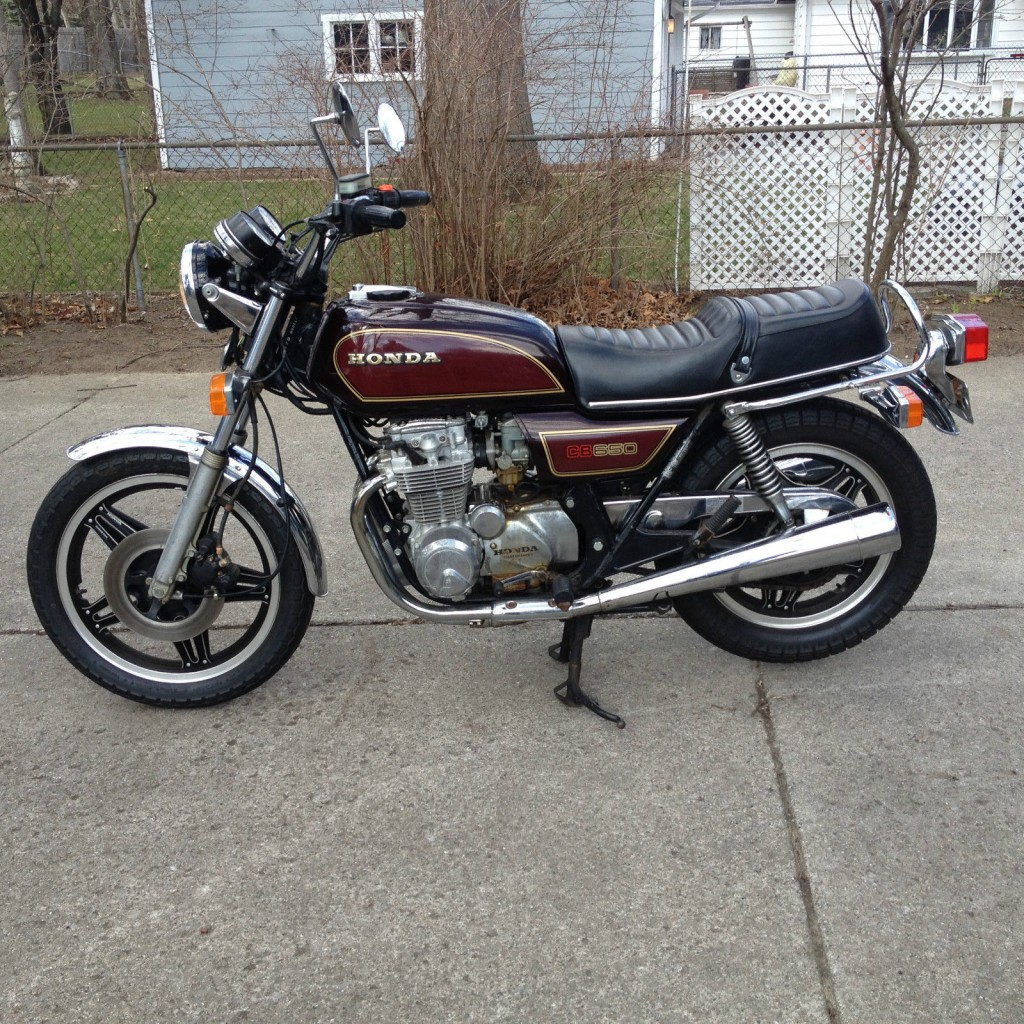 1979 honda cb650 very clean cafe racer for sale for Hondas for sale