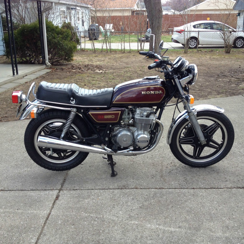 Honda Cx500 For Sale >> 1979 Honda CB650 Very Clean Cafe Racer for sale