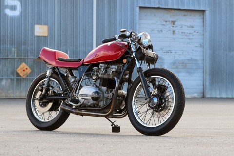 1979 Kawasaki KZ750 Twin Cafe Racer CUSTOM BUILT for sale