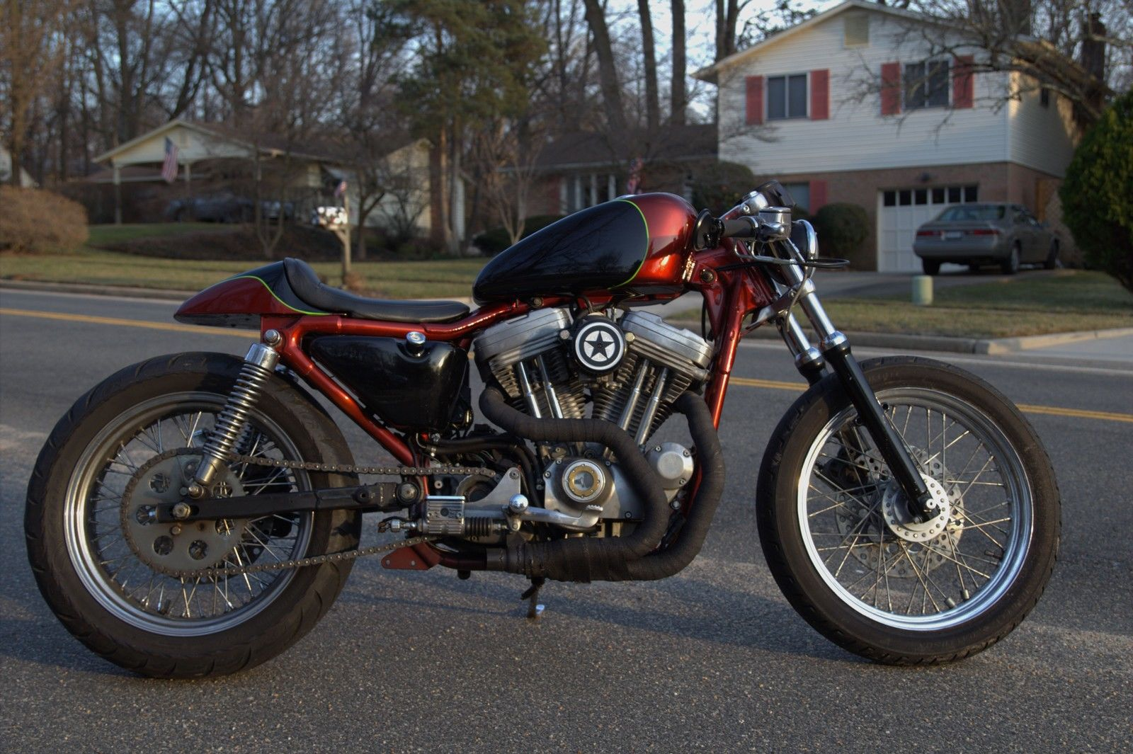"Fast-Iron: Harley Davidson Sportster ""concept"" bobber/café ... 