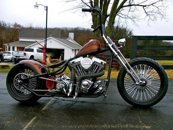 Custom Built Motorcycles Bobber Cafe Racers For Sale on 1974 Sportster Bobber