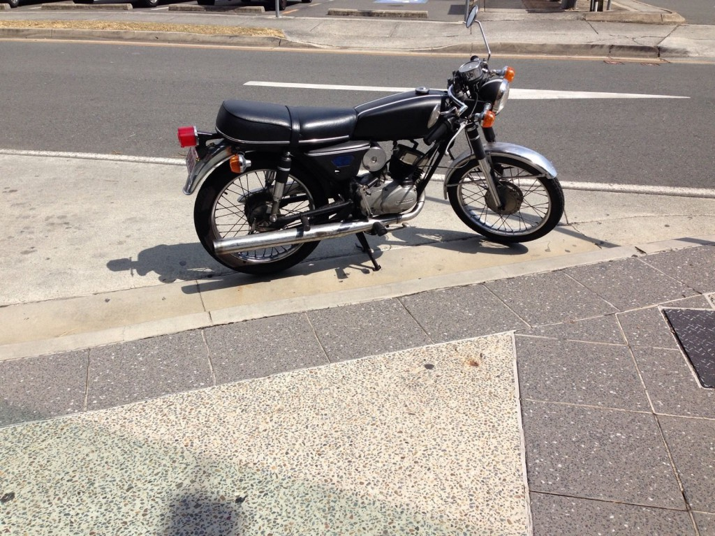 Kawasaki Kh100  G7s  Cafe Racer For Sale