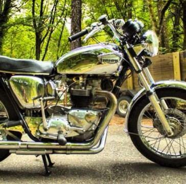 1966 Triumph Bonneville T100R for sale