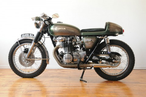 1969 Honda CL450 Cafe Racer Near Perfect for sale