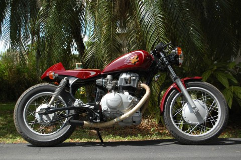 1983 Honda CM450 Cafe Racer Motorcycle for sale