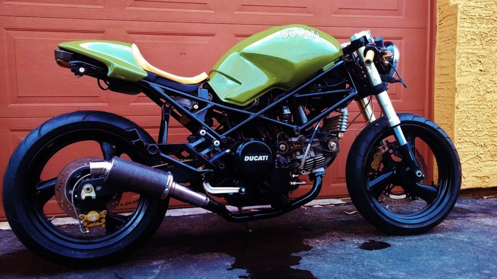 1997 ducati monster 750 cafe racer for sale. Black Bedroom Furniture Sets. Home Design Ideas