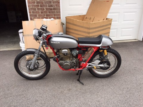 1972 Honda CB350 Custom Cafe Racer for sale