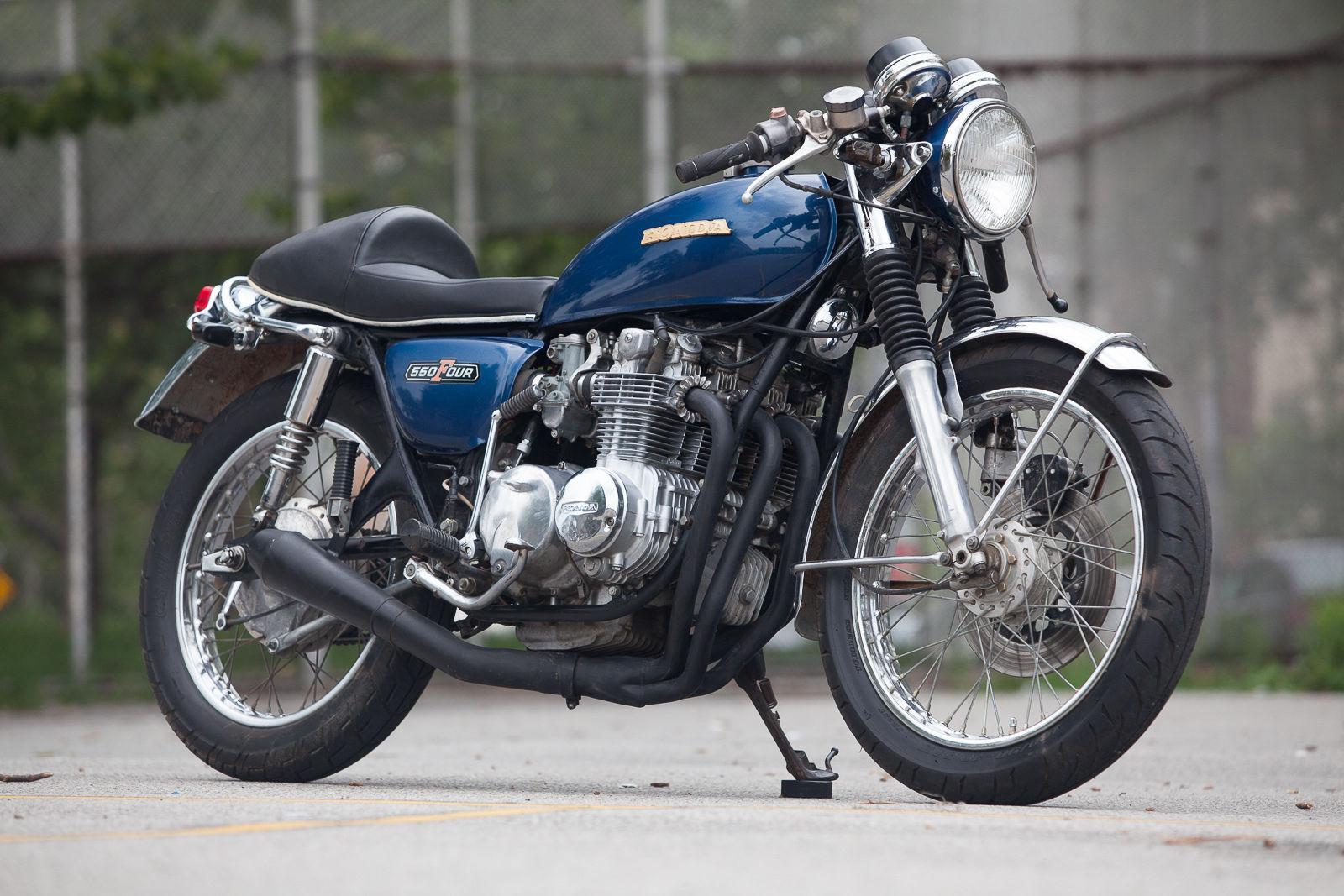 Honda Cb550 For Sale >> 1976 Honda CB550 Cafe Racer for sale