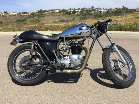 1976 Triumph Bonneville Cafe Racer for sale