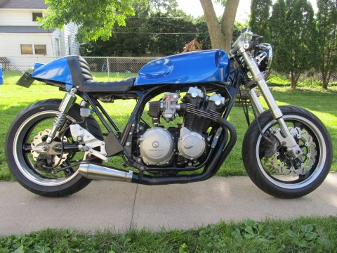 1982 Honda CB750 cafe racer hybrid street fighter for sale