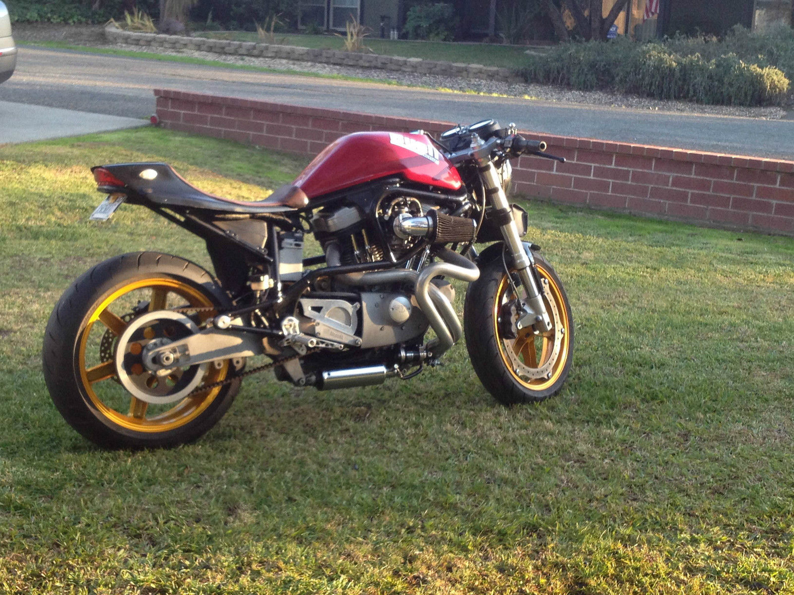 1999 Harley Davidson Sportster Buell Cyclone Cafe Racer