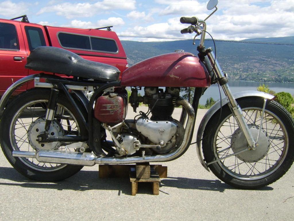 1957 Norton Triton