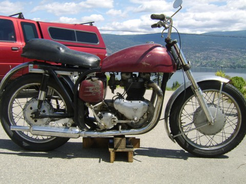 1957 Norton Triton for sale