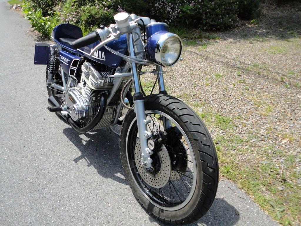 1974 Yamaha TX500 café style
