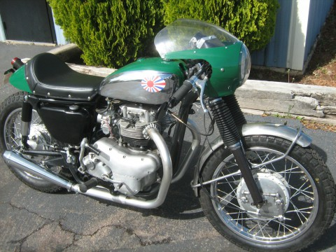 1969 Kawasaki W2 Commander Cafe Racer for sale