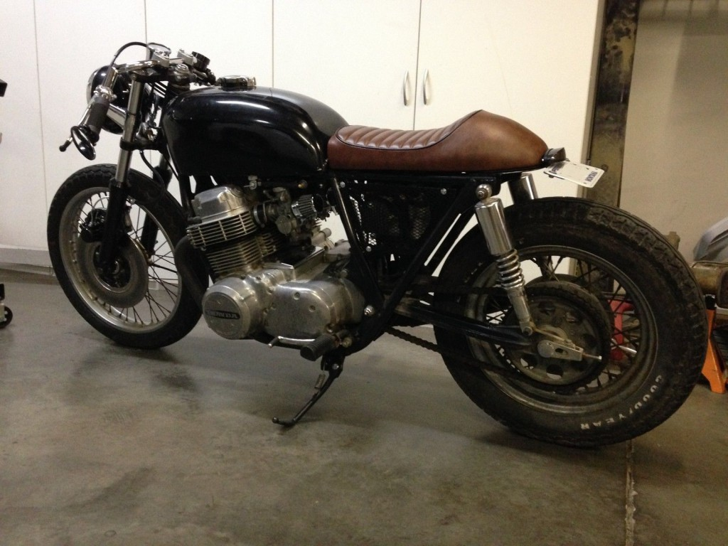 1973 Honda CB750 Custom Cafe Racer Brat