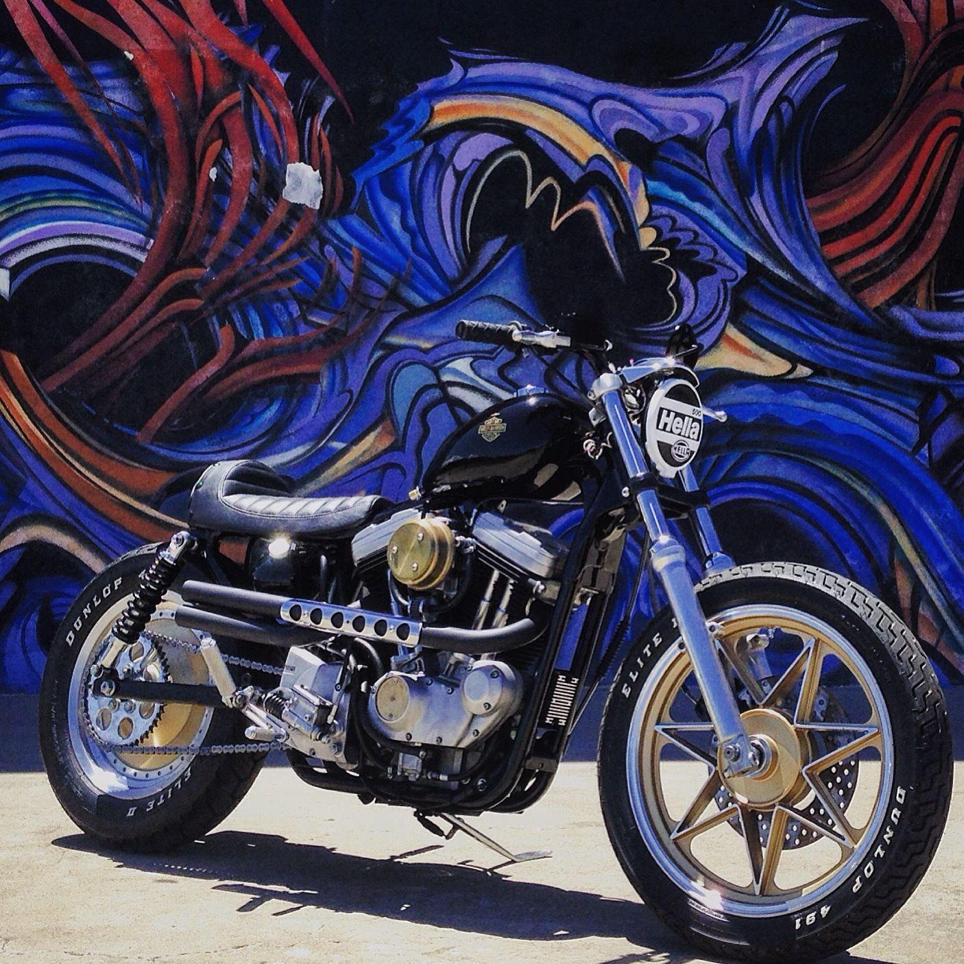 1993 Harley Davidson Sportster Street Tracker Cafe Racer