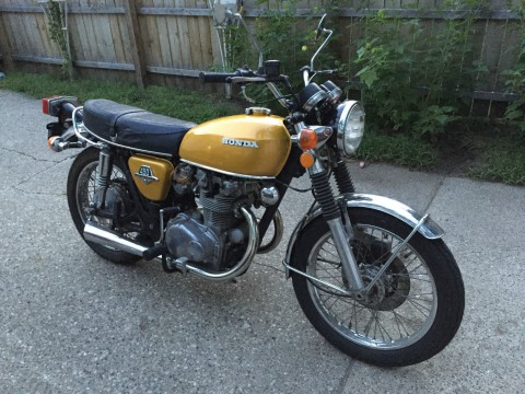 1973 Honda CB450 k6 cafe Racer for sale