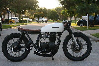 1975 Honda CB550 Vintage brat Style cafe Racer