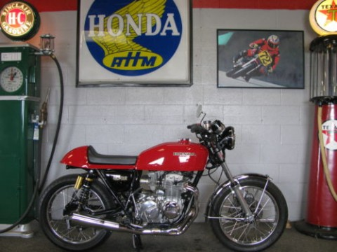 1976 Honda Cb400f cafe Racer Complete Custom build for sale