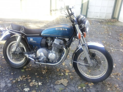 1977 Honda Hondamatic Cb750 Cb750a  Cafe Racer Project for sale