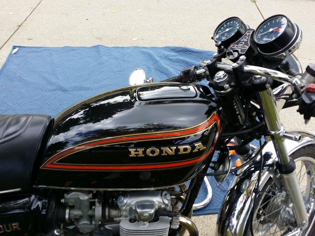1978 Honda 550k Black Cafe Racer SOHC