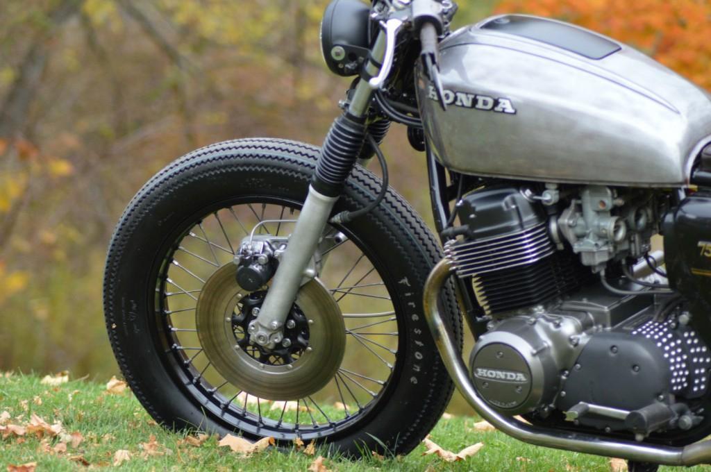 1978 Honda Cb750 Vintage cafe Racer Bratstyle brat bike caferacer