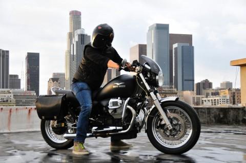 2011 Moto Guzzi 1100 California Black Eagle Custom cafe Racer not bobber for sale