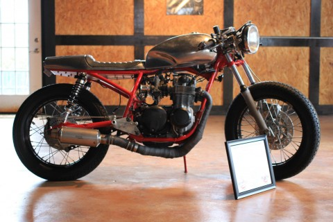 Bedlam Werks 1976 Honda Cb550 Custom Cafe Racer for sale