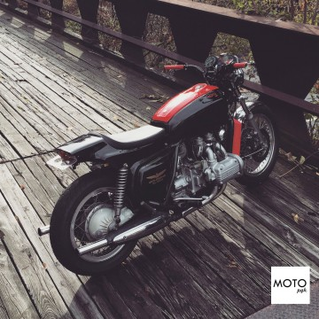 Custom Built 1977 Honda Gl1000 Goldwing cafe Racer CB750 for sale