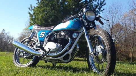 1974 Honda CB 360 cafe racer for sale