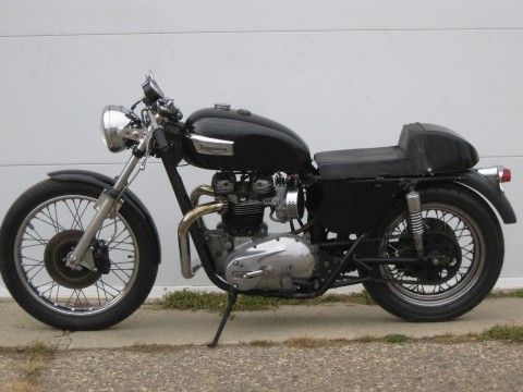 1976 Triumph Bonneville T140v Cafe Racer 750cc 5 Speed LEFT SHIFT for sale