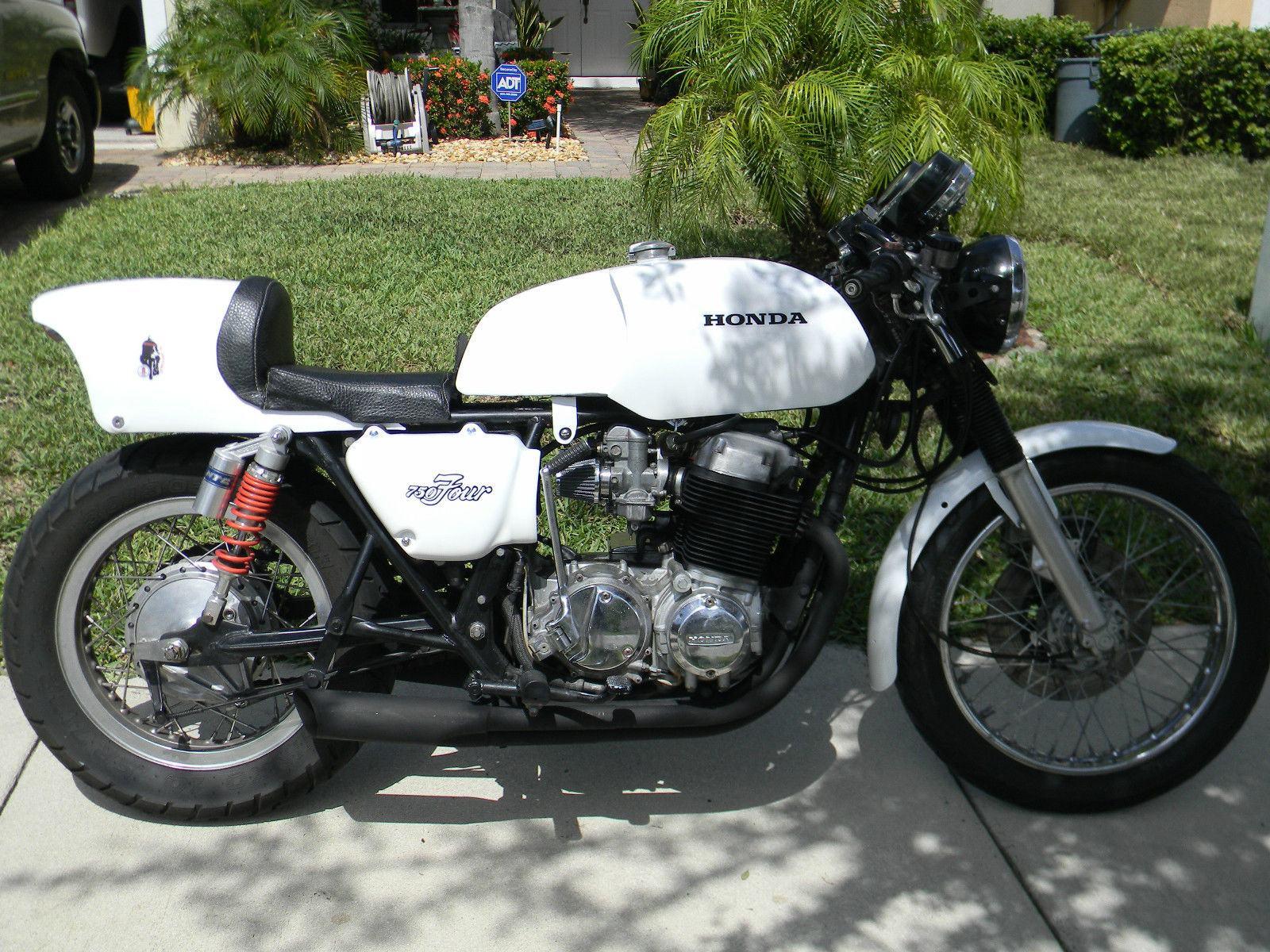 1977 honda cb750 cafe racer for sale for Honda hrv gas tank size