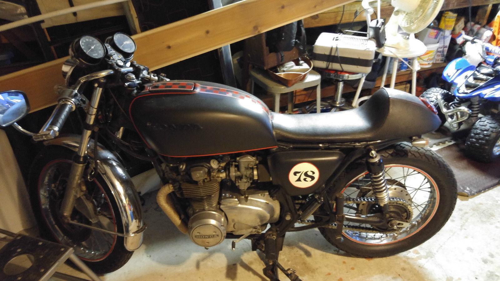 Honda Cb550 For Sale >> 1978 Honda CB550 Cafe Racer for sale