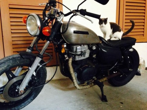1981 Custom Cafe Racer Honda cm 400cc for sale