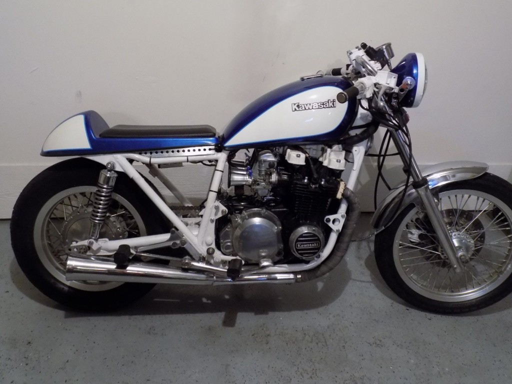 1981 Kawasaki Custom Cafe Racer KZ650 for sale