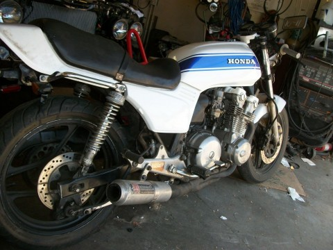 Honda 750f Cb750 1981 Vintage cafe Racer for sale