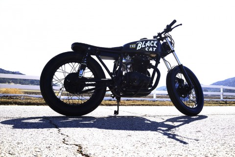 1975 Honda CB360 custom cafe racer for sale
