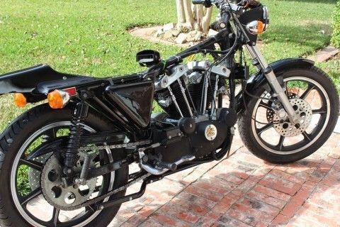 1977 Harley Davidson Sportster XLCR Cafe Racer Unrestored project for sale