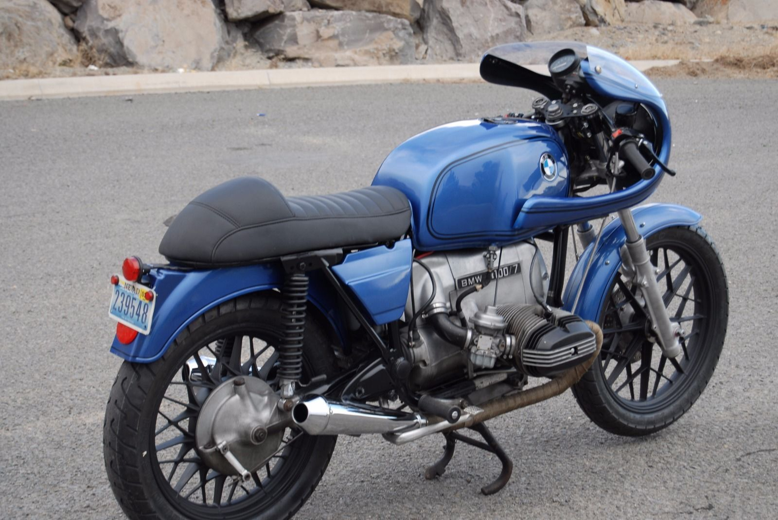 1978 BMW R100 7 Custom Motorcycle Cafe Racer Airhead Bobber