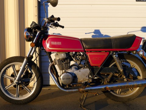 1978 Yamaha XS400 RD Style Vintafe Cafe Racer for sale