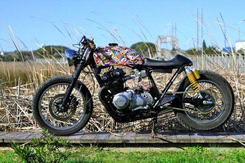 "1982 Honda Cb750 ""S Bomb"" Custom Cafe' Racer by Magnum Opus for sale"