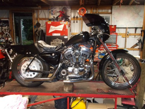 2002 Harley Davidson Sportster/Cafe racer for sale